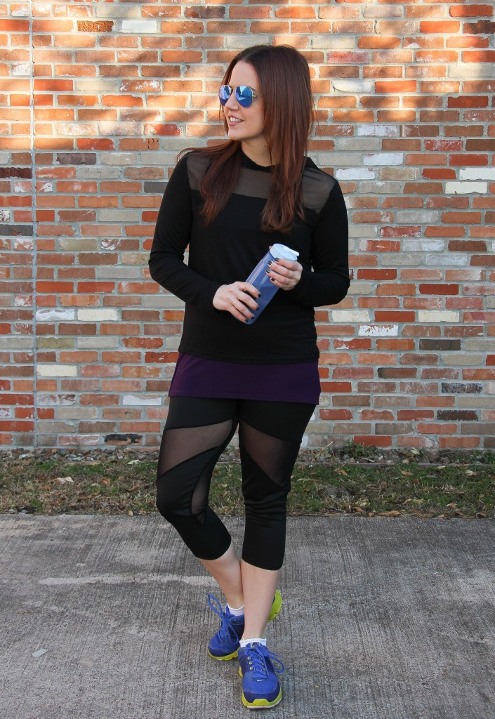 Affordable Workout Clothes | Lady in Violet