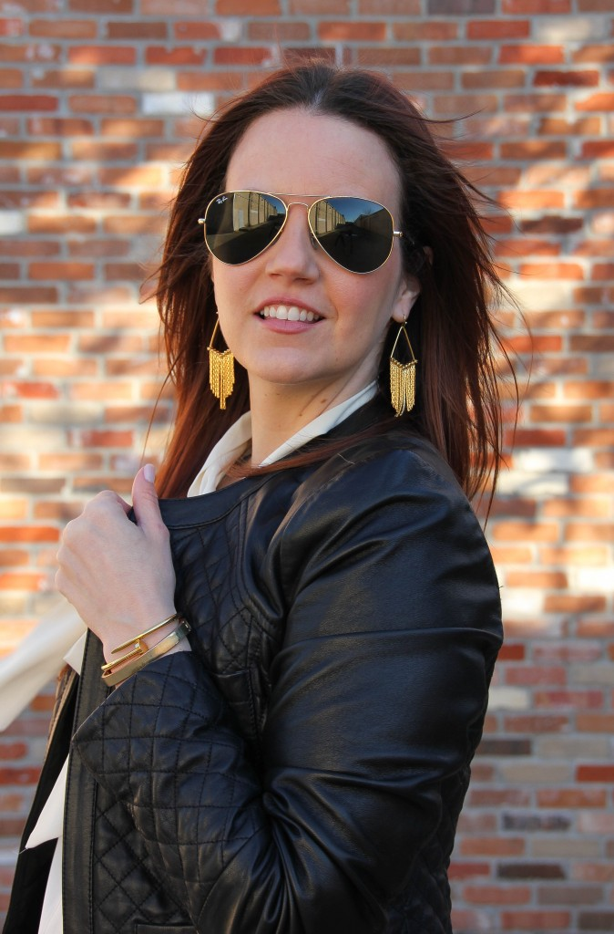 Baublebar Aretha Earrings and bracelets | Lady in Violet