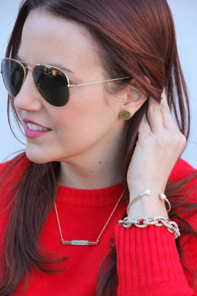 Gold Jewelry - Rocksbox and Baublebar, Kendra Scott   Lady in Violet