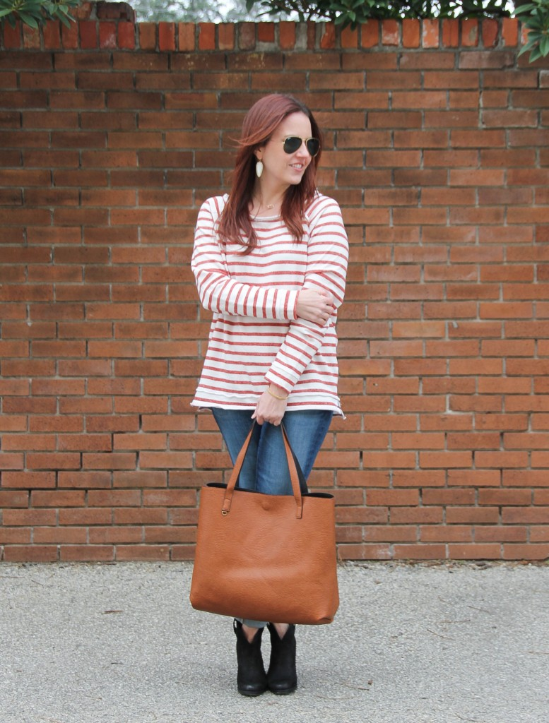 Casual Weekend Outfit | Lady in Violet