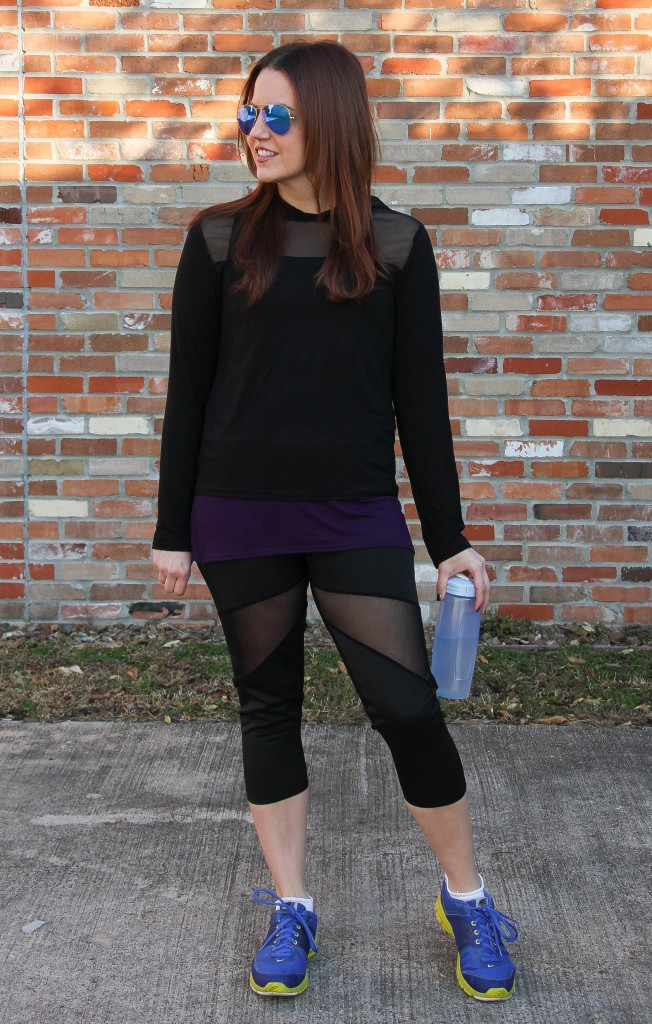 Affordable Gym Clothes for women | Lady in Violet