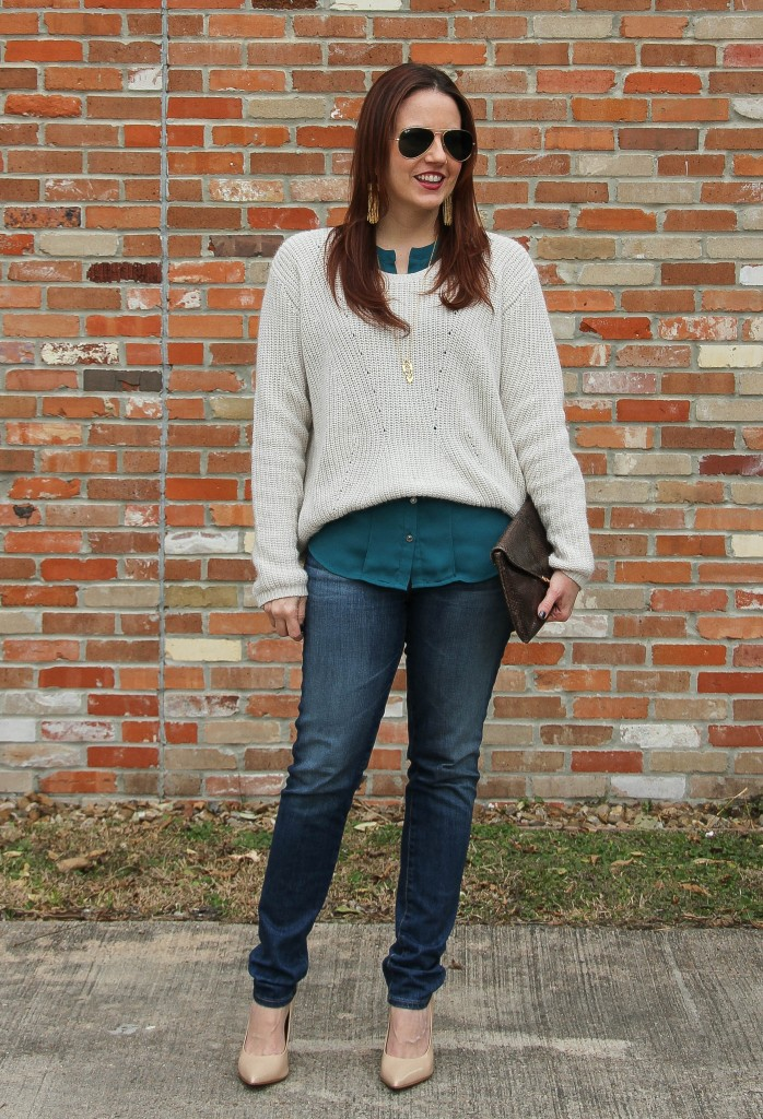 Winter Casual Weekend Outfit | Lady in Violet