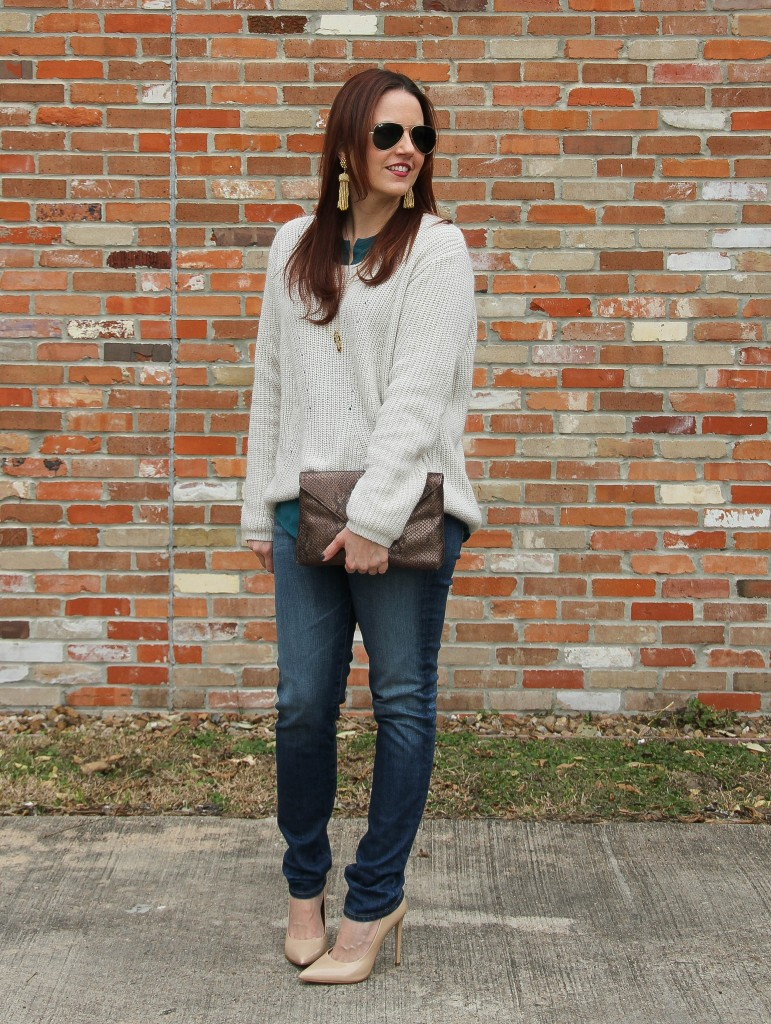 casual weekend outfit idea | Lady in Violet
