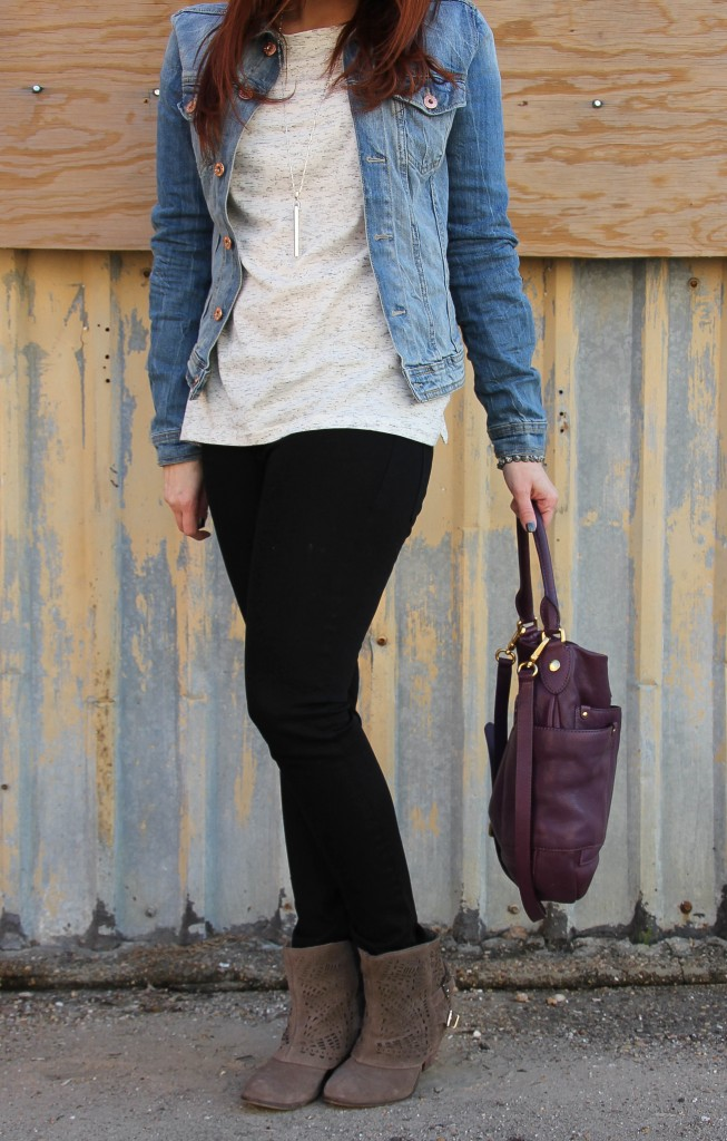 Weekend outfit idea | Lady in Violet