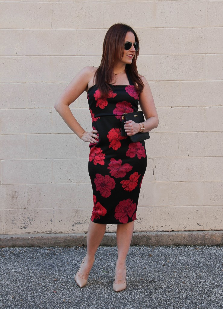 Valentine's Date Night Dress | Lady in Violet