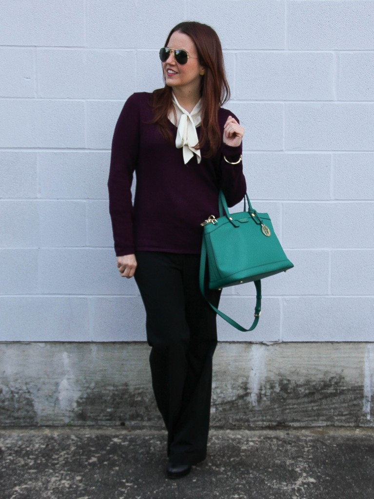 What to wear to work | Lady in Violet