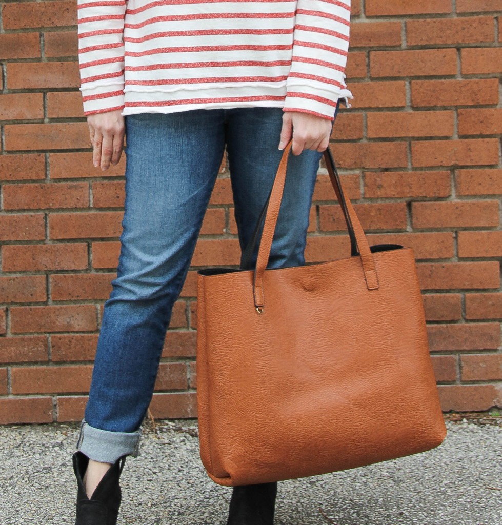 Street Level Reversible Tote | Lady in Violet