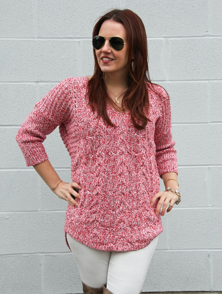 Winter Sweater | Lady in Violet