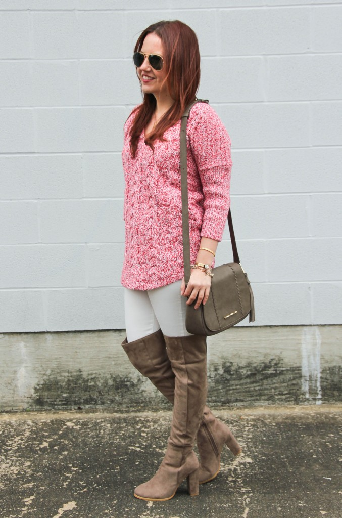 Cold Weather Outfit | Lady in Violet