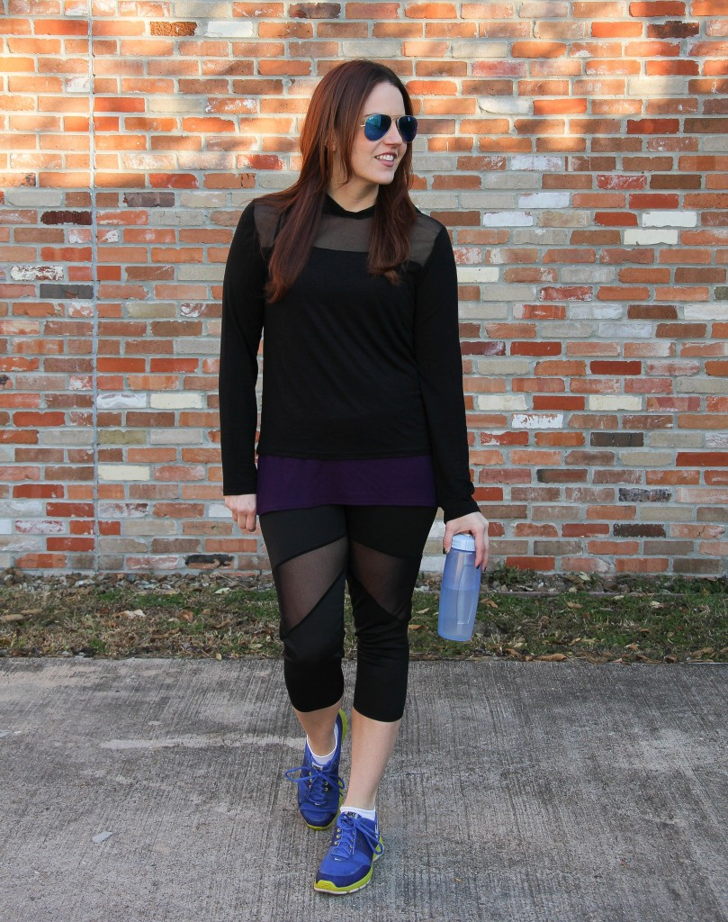 Affordable Workout Clothes by Boohoo Fit Line | Lady in Violet