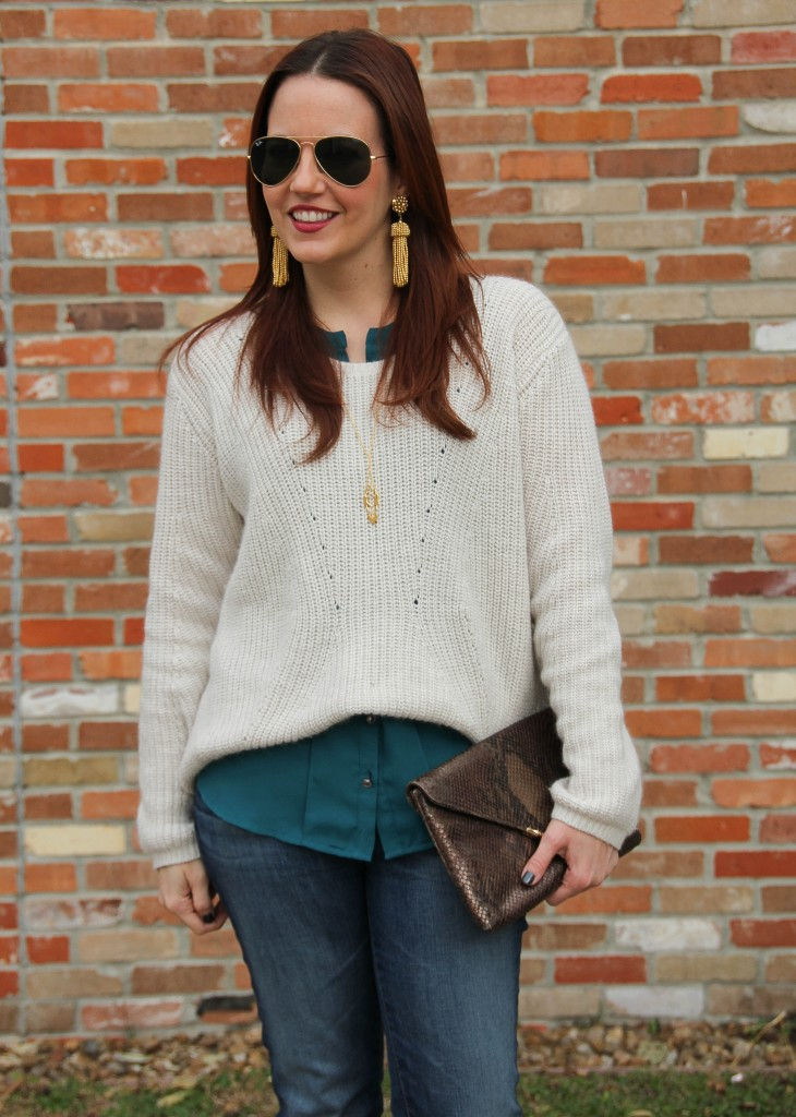 Casual Outfit Idea for winter | Lady in Violet
