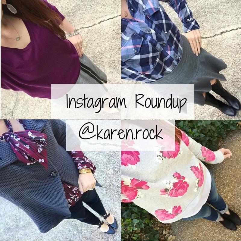 Instagram Roundup @karen.rock