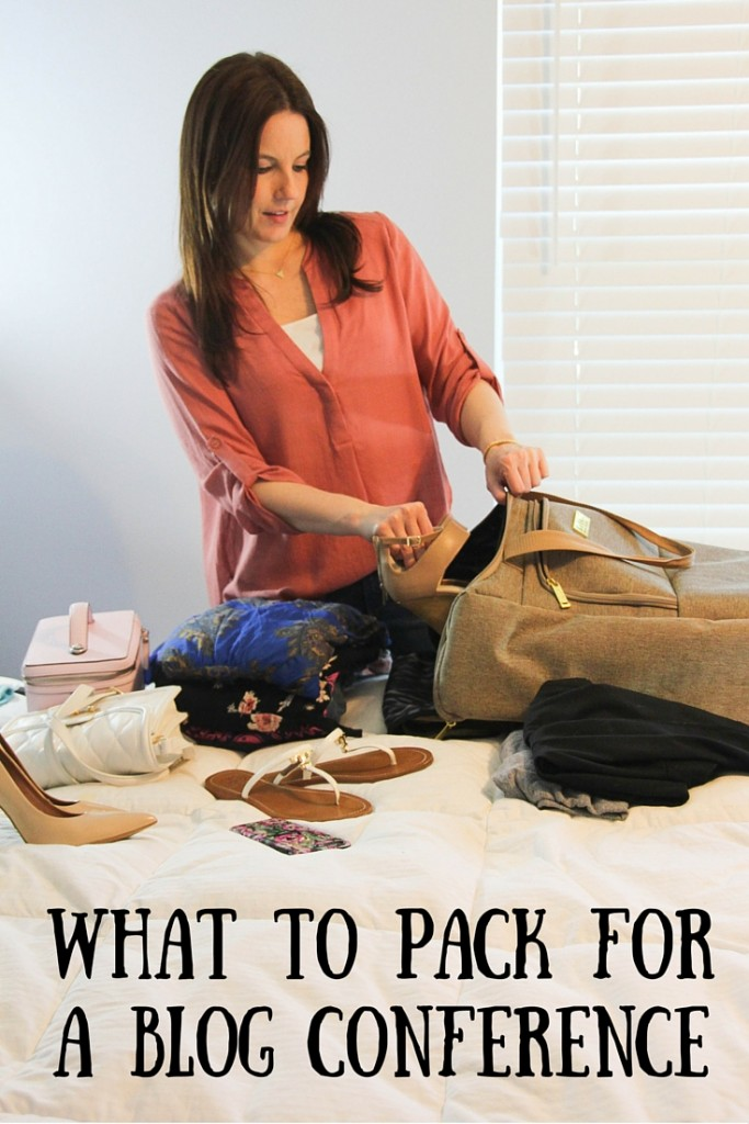 What to Pack for a Blog Conference