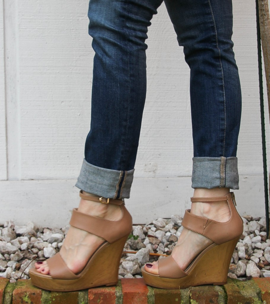 seychelles ramble wedges | Lady in Violet