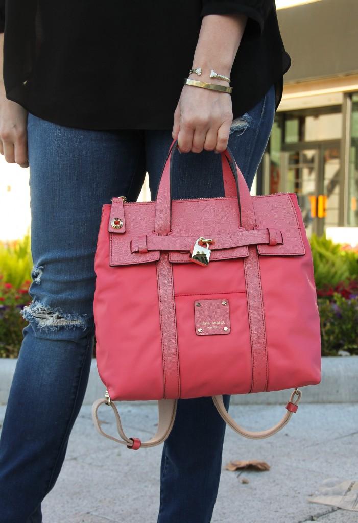 Henri Bendel Mini Jetsetter Bag | Lady in Violet