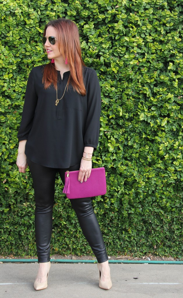 How to wear all black by Lady in Violet