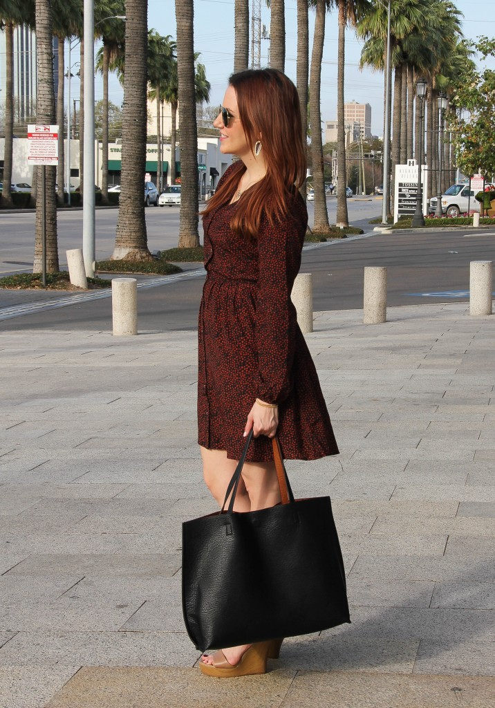 long sleeve dress for work