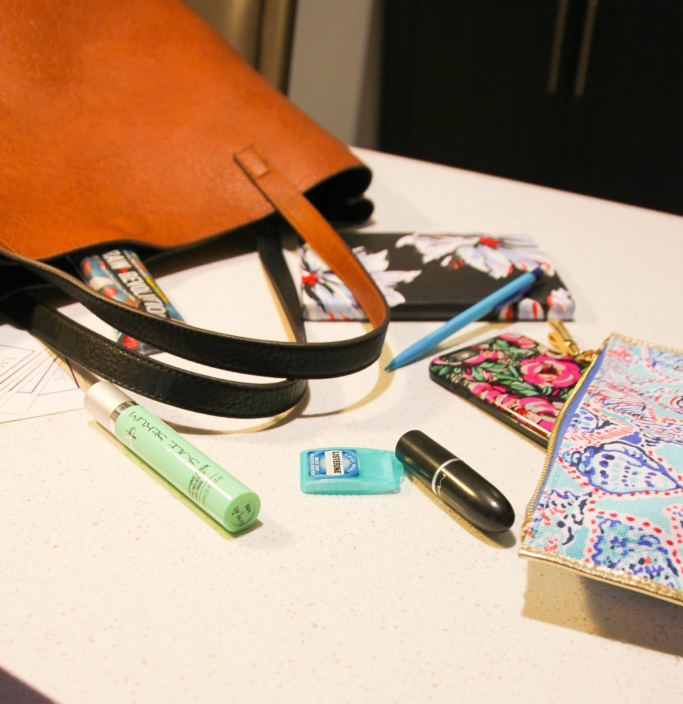 what is in my blog conference bag