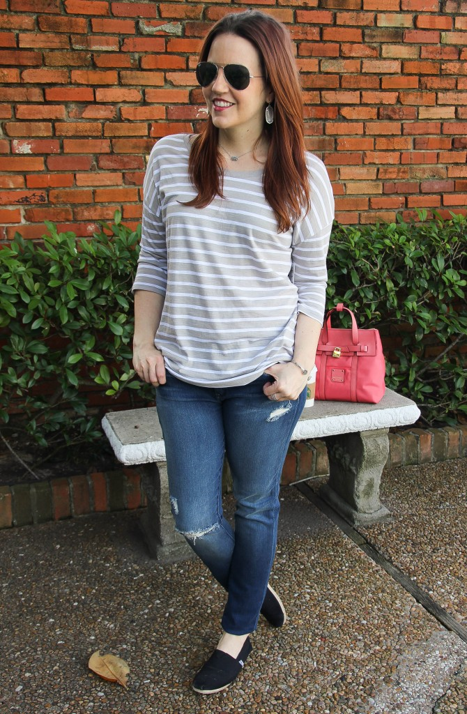 casual outfit for spring by Lady in Violet
