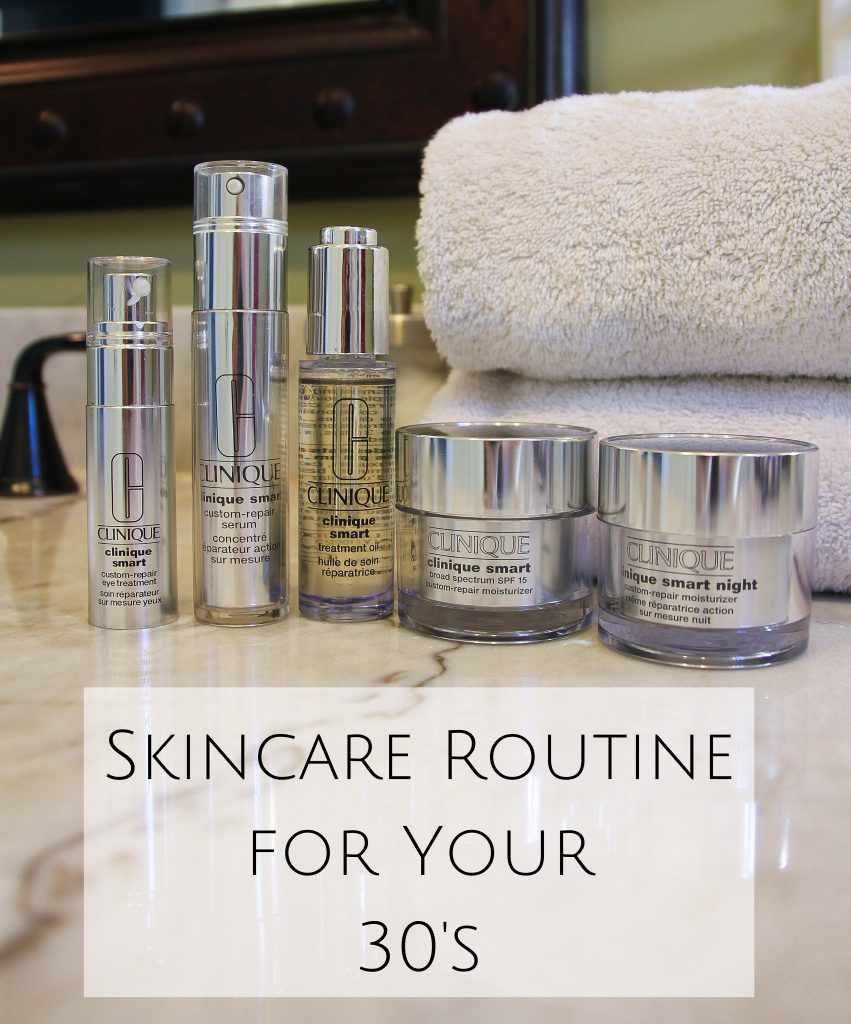 Skincare Routine in your 30s