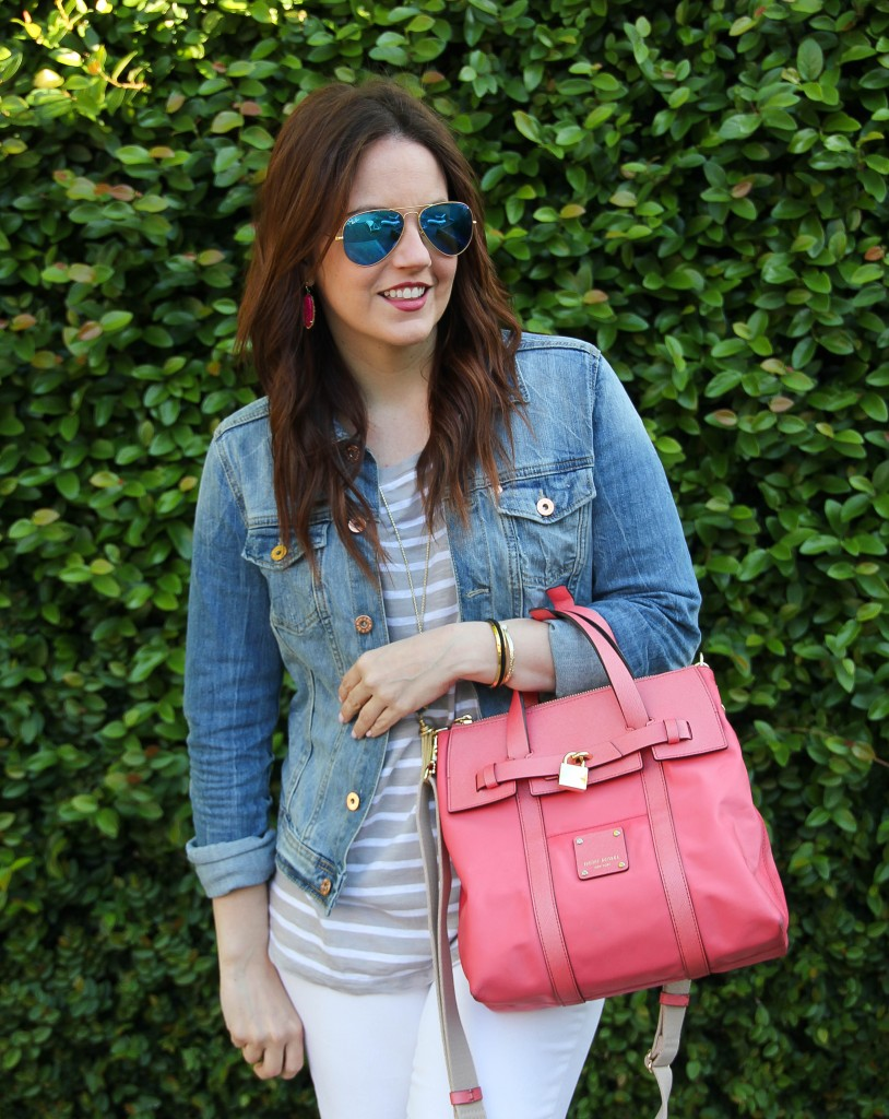 denim jacket - spring fashion trend and closet staple