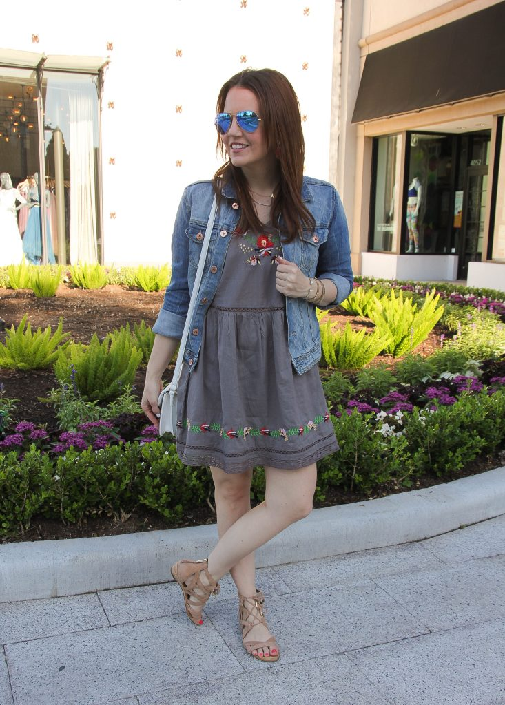 weekend outfit idea for spring by Lady in Violet