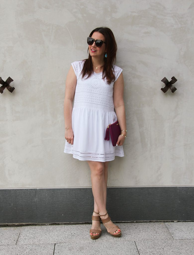 hot to wear a white dress in summer