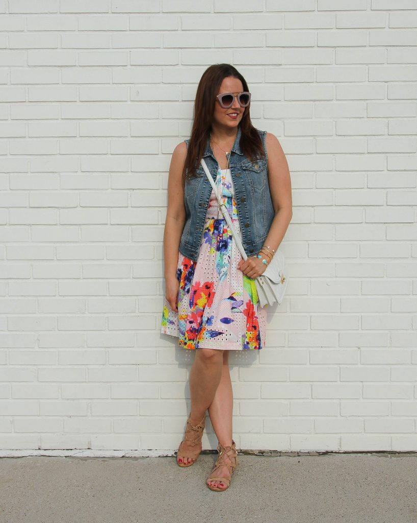 fashion blogger's how to restyle a dress
