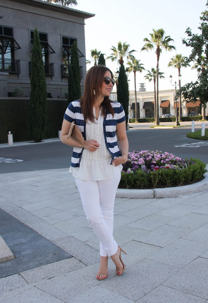 how to wear all white in spring and summer