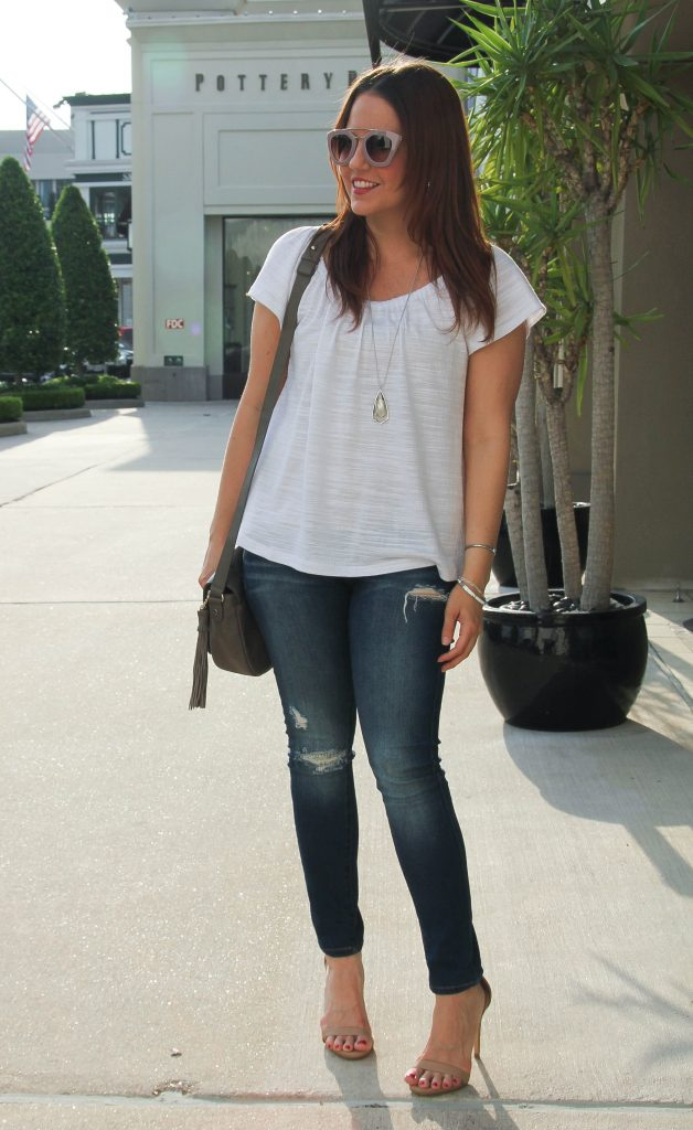 Houston Fashion Blogger - Lady in Violet in a Spring Weekend outfit