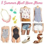 5 Summer Must Have Items