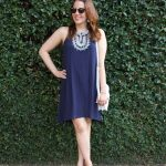 4th of July Outfit – Navy Dress