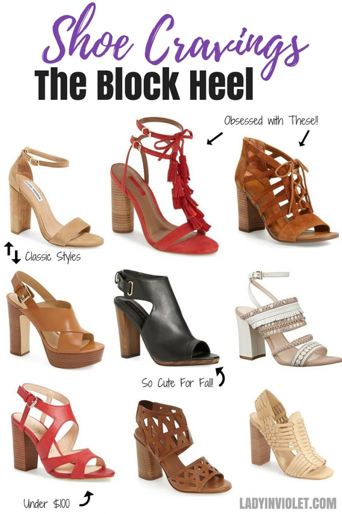 Fashion Trends 2016 - Block Heel Sandals