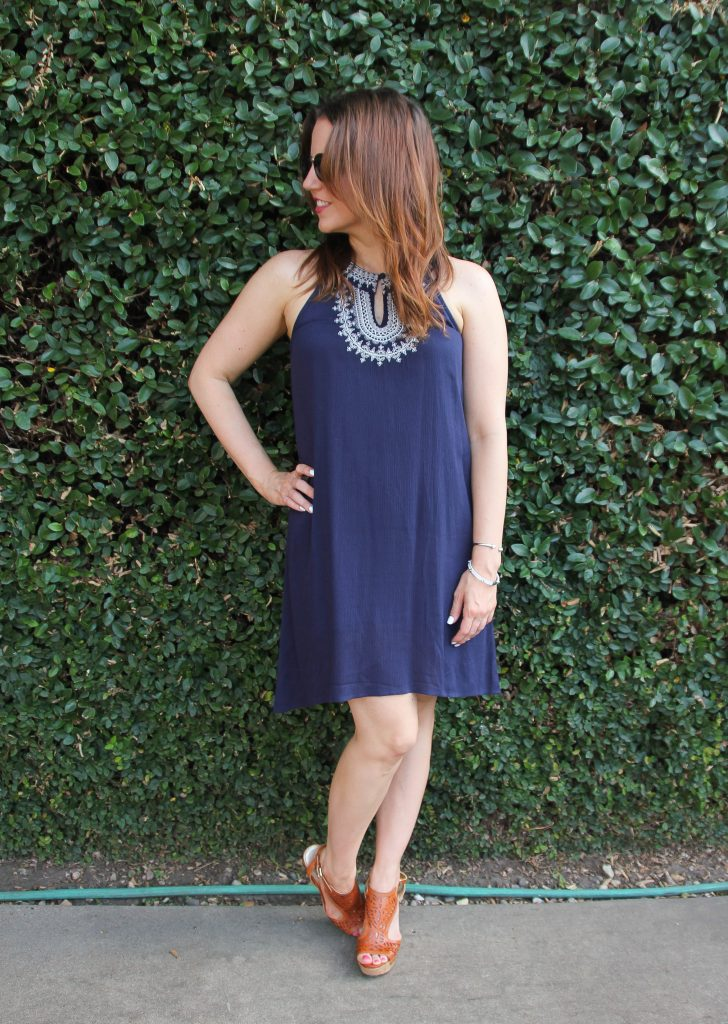 4th of July Outfit - Navy Dress