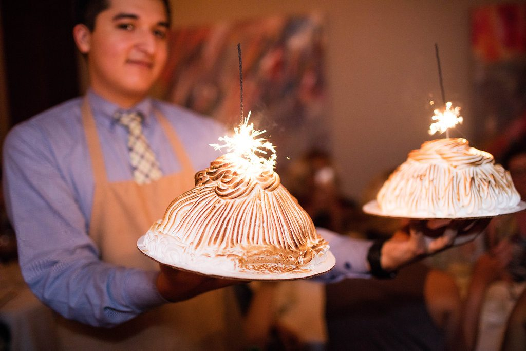 Vallone's Houston - Baked Alaska Dessert
