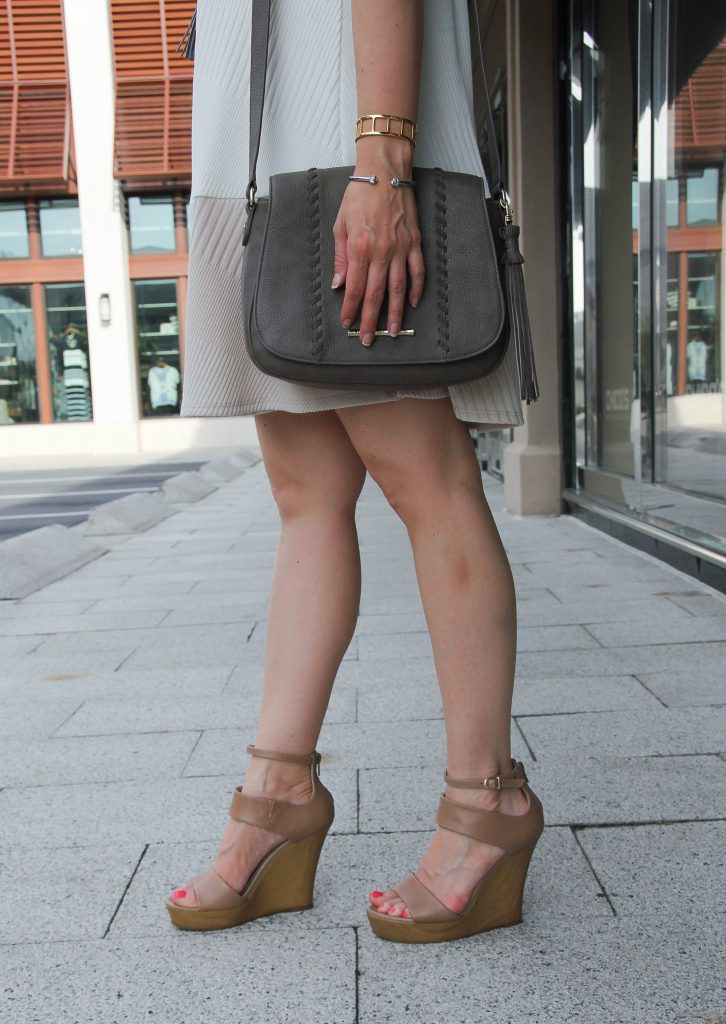 nude wedges for summer