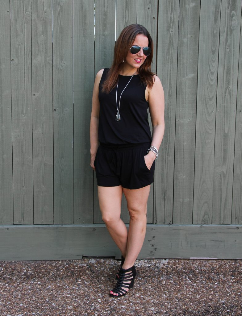 how to style a romper for a summer party