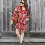Casual Shift Dress for Fall