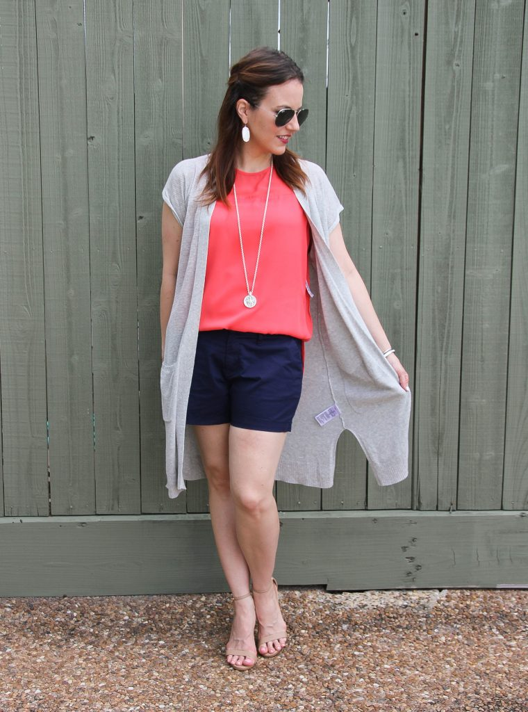 what to wear to a summer party - shorts