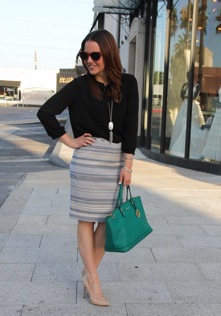 street style fall work outfit