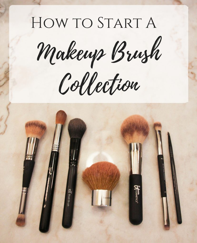 how to start a makeup brush collection