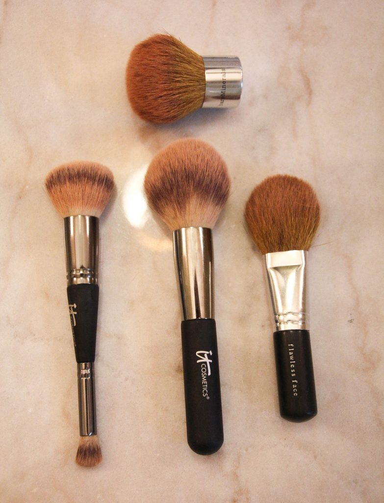 types of makeup face brushes