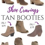 Shoe Cravings: Tan Booties