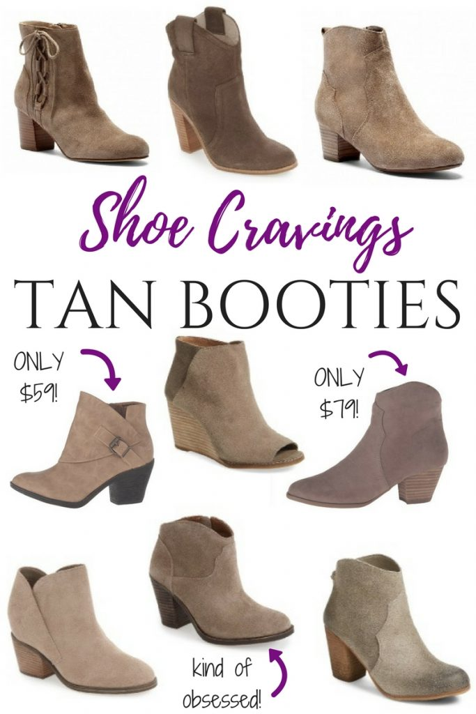 fall fashion trend - tan and taupe booties 2016