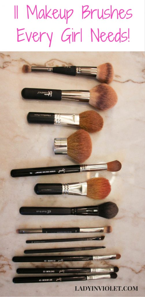 11 Makeup Brushes every girl needs