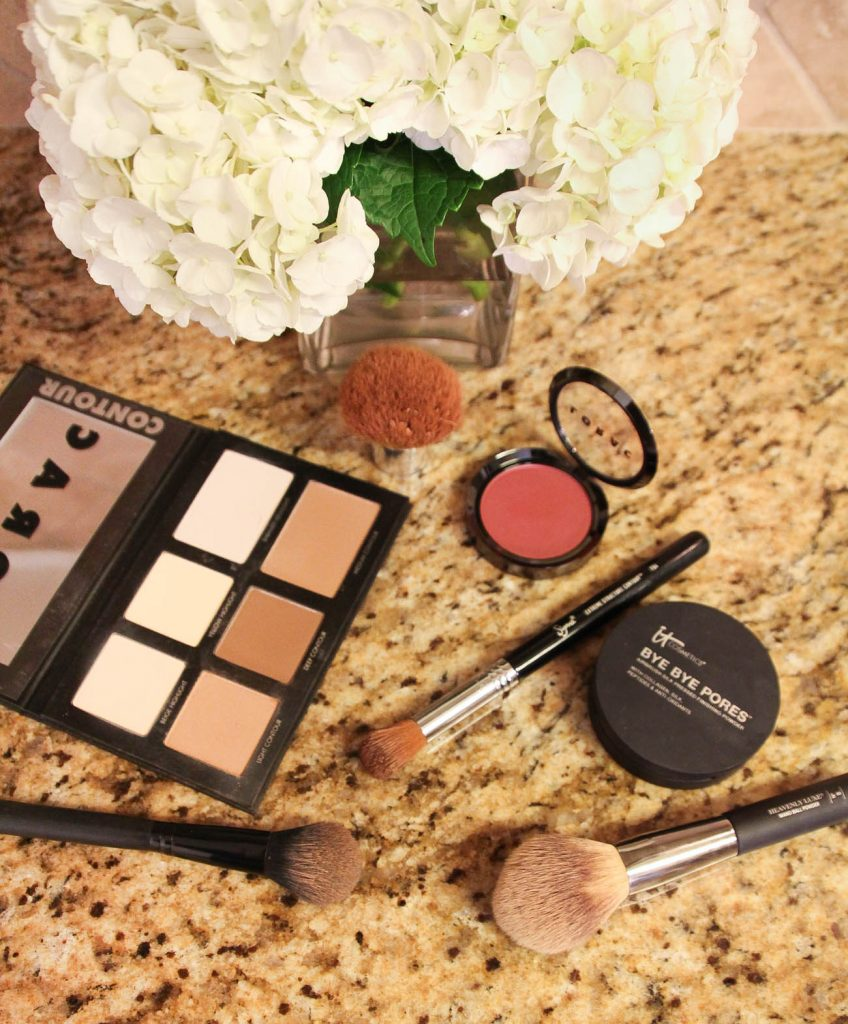 How to use a contour palette in your makeup routine.
