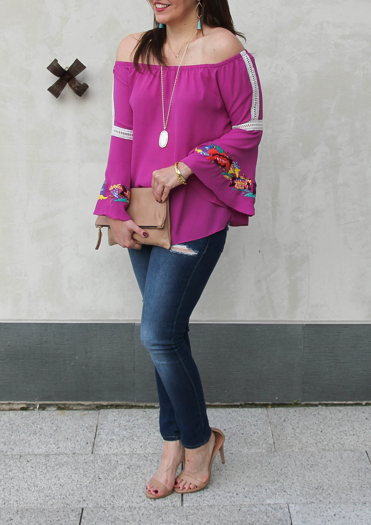 Fall Trends Bell Sleeve Tops Lady In Violetlady In Violet