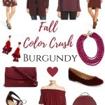 Fall Color Crush: Burgundy