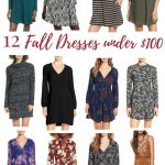 12 Fall Dresses under $100!