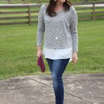 Faux Layered Sweater